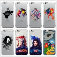 Wholesale Game Thrones Galaxy - Game of Thrones case for iPhone X 10 8 7 6 6s Plus 5S Galaxy S8 Plus Note 8 Soft transparent TPU Case