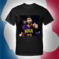 American Basketball Nacional ANTHONY DAVIS Jersey Sports T shirts Ropa de deporte Rugby Fans Ropa Personalizado Camisetas Unisex