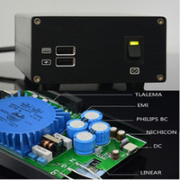 Wholesale 5v power amplifier - Freeshipping AC110V 220V 15VA USB DC 5V 9V 15V HIFI linear power supply