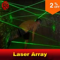 acessórios de laser venda por atacado-Promoções de desconto! Sala de fuga prop laser lab laser array para a Câmara dos segredos jogo intresting e arriscando jogo de laser verde