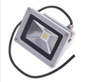 led projektörler sıcak beyaz toptan satış-85-265 V 10 W Peyzaj Aydınlatma Su Geçirmez LED Sel Işık Işıklandırmalı LED sokak Lambası beyaz Veya Sıcak beyaz Spot açık lamba