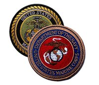 Wholesale Usmc Combat - VP-102 2016 USMC Embroidered patches United States Marines Corps Tactical 3D Patch Combat Badge Fabric Armband Badges sew on patch