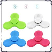 2017 Finger Spinner accendino con LED Light EDC giocattolo Decompression Hand Spinners Spinning Top USB caricabatterie Ricaricabile confezione regalo