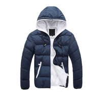 Wholesale Warmest Winter Parkas - 2016 Winter men jackets jacket warm coat Mens Coat Brand Sport Jacket ,Winter Down Parkas Man's Overcoat Size M-3XL