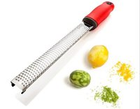 Metal spices vegetables - hot sales cheese zester microplane grater lemon zester use for Citrus Hard Ginger Cinnamon Nutmeg Chocolate Vegetable Spices