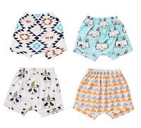 Wholesale Wholesale Summer Clothes Sale - Geometric baby shorts,ins hot sale summer kids clothes,soft knit cotton kids shorts new patten shorts,5pcs lot!