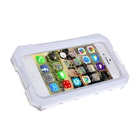 Wholesale Ipega Waterproof Case - Ipega Waterproof Shockproof Snowfroof Dirtproof Silicon Protective Case for iPhone 5 5S 6 6s with Strap White