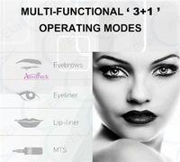 Wholesale Machine Permanent Eyes - Permanent Makeup Tattoo Machine Artmex Eye Brow Lip Rotary Pen V6 MTS PMU System
