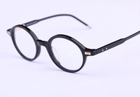 Wholesale Famous Optical - Famous Brand TB-407 Square Vintage Myopia Computer Optical Glasses Frame TB Men and Women Retro Eyeglasses Eyewear For Male With Box 46mm