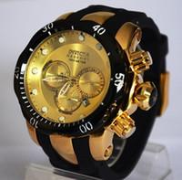 Wholesale Cheap Wholesale Brand Watches - New listing Men Watch Luxury Brand Watches Quartz Clock Fashion Watch Cheap Sports Wristwatch Relogio Invicta Male Chronograph