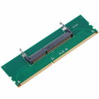 desktop ddr3 al por mayor-DDR3 Laptop SO-DIMM a Desktop DIMM Memory RAM Connector Adapter Tarjeta de protección DDR3