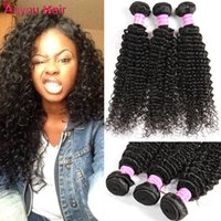 Les meilleurs articles de vente Kinky Curly Human Hair Weave Bundles Double Weft Non transformé Brazilian Brazilian Peruvian Malaysian Cheap Raw Indian Hair Extensions
