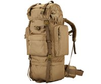 Wholesale Large Military Backpacks - Military Tactical Backpack Waterproof Hiking Camping Backpacks Outdoor Shoulder Bags Camouflage Large Capacity Bag
