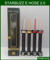 Wholesale Electronic Cigaret Kit - 2016 New Electronic Cigarettes Starbuzz Square E Cigs Vaporizer Hose 2.0 Cigaret E-Hose 2.0 Ehose E Hookah Starter Kit