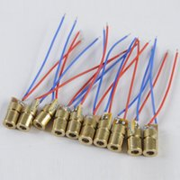 Wholesale 10pcs laser diode module red Laser Diode laser diode circuit V Module Head