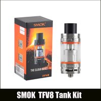 Wholesale Best Clones - In Stock!TFV8 Atomizer clone Top Refilling Sub ohm Tank Smoktech Cloud Beast Tank With V8-T8 V8-Q4 Coil Head Best Updated TFV4 Tank