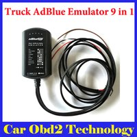 Wholesale Scania Adblue - 2016 New 9in1 Universal Adblue Emulator 9 in 1 Truck AdBlue Emulation Box For Mercedes MAN Scania Iveco DAF Vlvo Renault F0rd Cum-mins