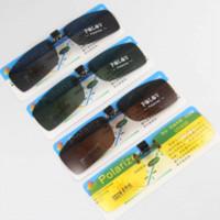 clip nachtsichtbrille großhandel-Polarisierte Sonnenbrille Männer Frauen Clip auf Sonnenbrille Clear Brillen Sonnenbrille Brille Brille Gelb Night Vision Eyewear