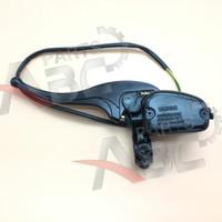 Wholesale Front Brake Lever - Wholesale- Front Left Brake Cylinder Lever W  Cable For Buyang 300cc ATV Buggy Dirt Bike