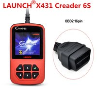Wholesale Launch X431 Vi - 2017 Free Shipping Original Launch X431 CReader 6S Code Reader Update On Official Website Launch CReader VI Plus