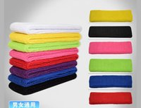 Wholesale Towels For Sale - Hot Sale Absorbent cotton sport headband care headband Headgear for men and women cotton nursing towel Free Shipping