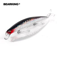 Wholesale diving fishing lure - 2017 Promotion Bearking Fishing Lures Hard Jigs Artificial Fish Baits 200Mm 27G Dive 0.5-0.7M 5Pcs lot Colors Send Randomly