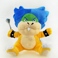 Wholesale Ludwig Blue - 16cm Super Mario Bros Ludwig Von Koopa Koopaling Plush Doll Toys Ludwig Stuffed Animal Toys For Kids Baby Gift With Tag