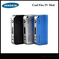 kit de fogo fresco innokin venda por atacado-100% Genuíno Innokin Cool Fire IV Mod CoolFire IV 40 W Bateria Mod 2000 Mah Fogo Legal IV Express Kit