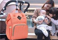 Wholesale Large Nude Canvas Art - Fashion Mummy Maternity Nappy Bag Brand Large Capacity Baby Bag Travel Backpack Desinger Nursing Bag for Baby Care Back Pack Women