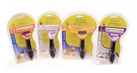 Wholesale Dog Hair Trim - Pet Dog Hair Trimmer Shedding Cat Dog Long Short Fur Hair Brush Comb Grooming Tool Free DHL