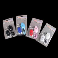 Wholesale whistle lost keys for sale - Group buy Smart Key Finder Whistle Sound Control LED Torch Anti Lost Key Chain Wireless Locator Hot Sale bb F R