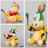 Lemmy Wendy Iggy Koopa 8 polegadas 20 centímetros Super Mario Bros Plush Dolls Stuffed Animals Plus Presentes Hot Venda Atacado