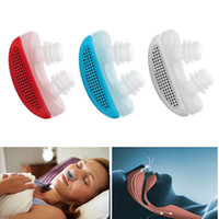 Wholesale New Magnetic Silicon - 2017 brand new silicon snore stopper healthy sleepping keepper magnetic anti snore sleep device 3 colors for choose