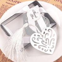 Wholesale Baby Bulk - Metal Bulk My Heart Bookmark First Communion Birthday Baby Shower Wedding Favors and Gifts For Guest wen4474