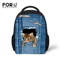 Wholesale Cute Bag For School Man - Fashion Children School bags Backpacks Cute 3D Animal Cat Schoolbag for Girls Casual Kids Women Shoulder School Book bag Mochila Escolar