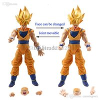 Action en gros-Lot 6 pcs Dragonball Z Dragon ball DBZ Goku Piccolo Figure Toy Set Anime Livraison gratuite
