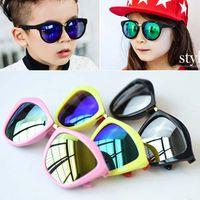Wholesale Kids Beach Sunglasses - Children Sunglasses Kids beach sunglasses Multi-color Baby Outdoor Sun glasses Child Girls Tide glasses classic style Ciao C25358
