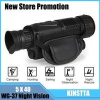 Wholesale Optic Camera - KINSTTA Infrared Digital Night Vision Monocular Scope 5x40 For 200Meter,Zoom 5X , IR, 5MP Digital Camera Video In CCD For CSgame