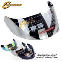 k5 parçalar toptan satış-K5K3SVk1 Kalkan kasko Capacetes Parçaları için Motosiklet Kask visor Parçaları Tam Yüz Lens