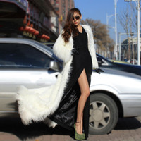Wholesale Sexy Leather Jackets Fur - Cheap Multicolor Leather grass long leopard men and women Wang Fan sexy nightclub costumes costumes coat jacket