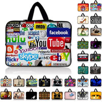 Wholesale Laptop Computer Accessories Bags - Universal 7 10 11.6 13 14 15 17 Portable Laptop Bag Carry Cases Sleeve Netbook Cover Pouch 13.3 15.4 15.6 Computer Accessories
