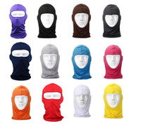 Wholesale Classic Lycra cycling Face Mask CS Sports Football Balaclava Helmet colorful bicycle full face mask