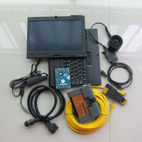 bmw icom a2 hdd toptan satış-BMW icom a2 b c tarayıcı ile X200t dizüstü 4 GB Ram dokunmatik ekran hdd 500 gb uzman modu windows 7 için bmw teşhis