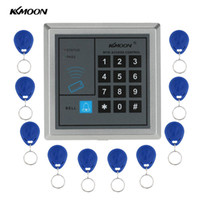 KKmoon Home Security RFID Proximity Entry Türschloss Access Control System Mit 10pcs RFID Keys Key Fob