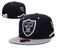 Wholesale Snapbacks High - wholsale price 2016 Raiders Oakland Snapback Caps Adjustable Football Snap Back Hats Hip Hop Snapbacks High Quality Players Sports