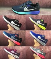 Wholesale Structured Shoes - 2017 Air Zoom Structure 21 Running shoes high quality men and women Air Structure 21 Net breathable light Sports Shoes Eur 36-45