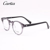 Wholesale Prescription Reading Glasses - Carfia Brand Designer reading glasses frame for men and women 5105 oculos de grau feminino masculino optical prescription eyewear frame