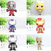 Azione Funko Pop Iron Man 3 POP Ironman War Machine vinile Bobble Head Giocattoli PVC Figure giocattoli Brinquedos grigio Super Hero