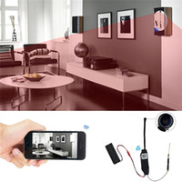 Wholesale Video Reviews - P2P 1080P HD Wifi Network Camera Video Recorder Motion Activated DV Camcorder Support APP Remote Review 140° Wide View