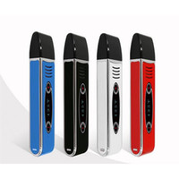 Wholesale Touch Generations - Original Airistech Herbva Dry Vaporizer 2200mAh E Cigarette Kits Medical Ceramic Chamber First Generation Touch Screen Vape Ecigs